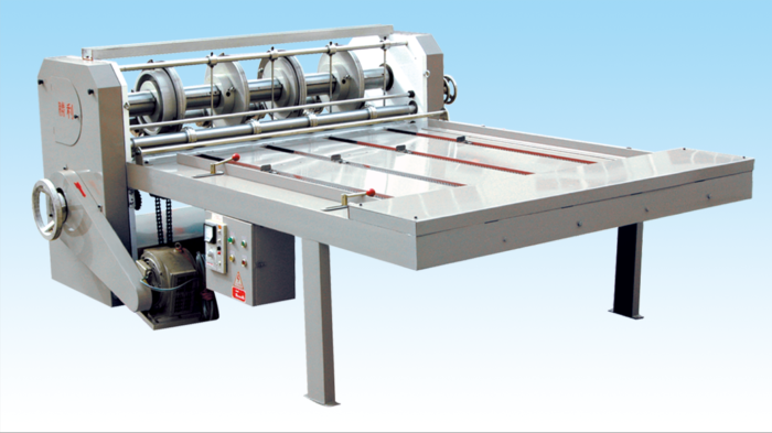 FQ Semi Automatic Slotting Machine with Chian Feeder